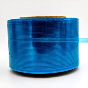 Blauwe film koerierzak afdichtingstape