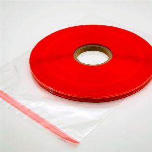 Gekleurde afdichtingstape voor verpakkingstassen