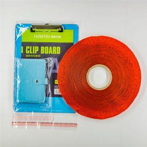 Op maat gemaakte plastic zak afdichtingstape