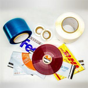 Afdrukbare tape voor permanente zakafdichting