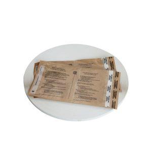 Zelfklevende permanente afdichtingstape voor de tas